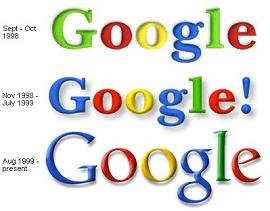 Logomarcas da Google