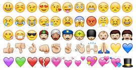 Seleção de emojis