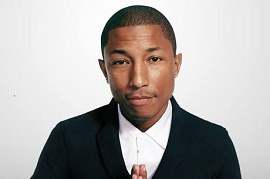 Foto do cantor Pharrell