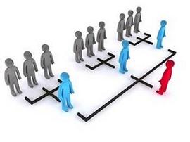 Imagem representando estrutura organizacional