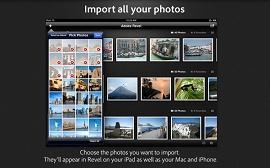 Imagem mostra como importar todas as suas fotos