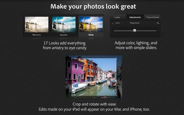 Imagem mostra como editar suas fotos