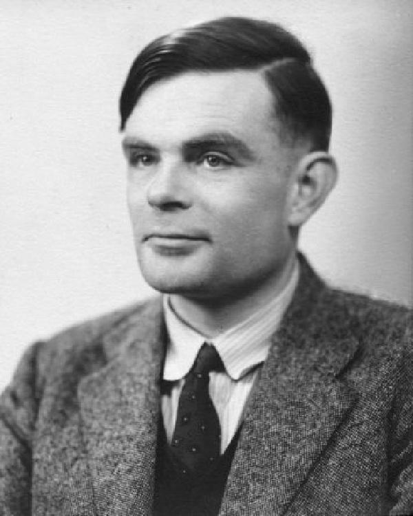 foto de Alan Turing