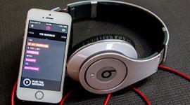 Imagem mostra a fusão entre a Apple e o serviço de streaming Beats Music