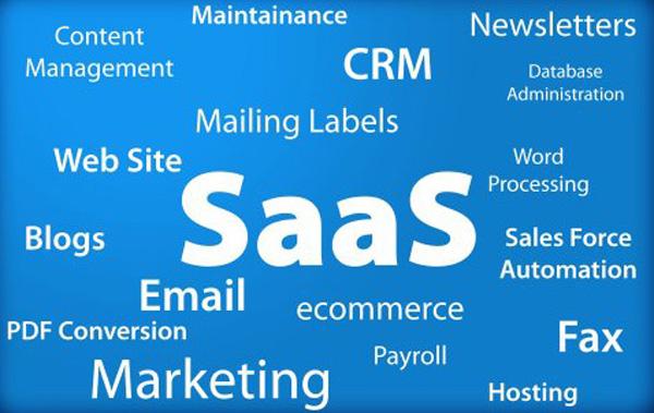 imagem da sigla SaaS, Software as a service
