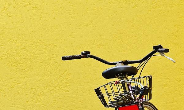 Foto de uma bicicleta coasting