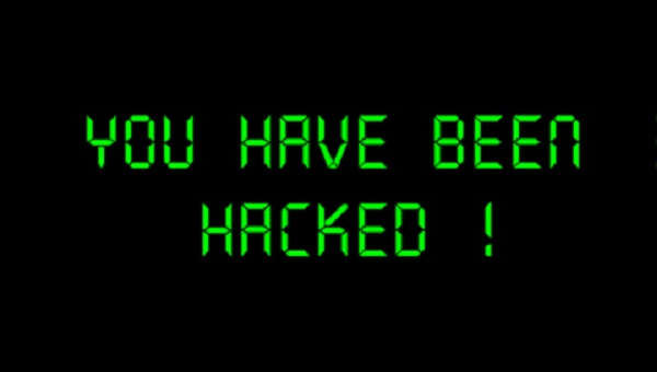 a frade you have been hacked