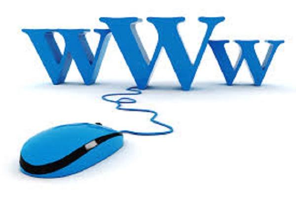 letras www ligadas à um mouse
