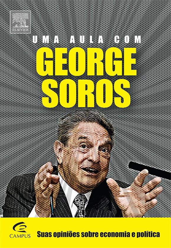 Capa do livro Uma aula com George Soros