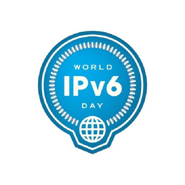 imagem mostra logo do World IPV6 Day