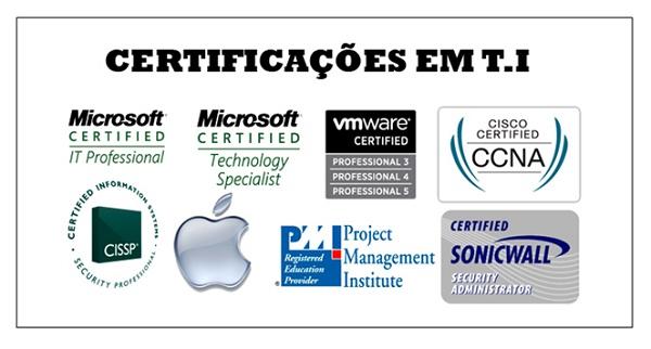 Certificações em TI