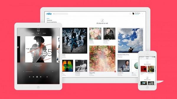 Telas do App RDIO