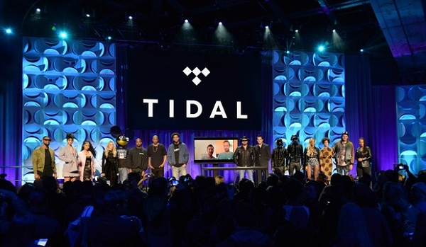 Foto do lançamento do serviço TIDAL