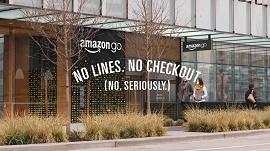 Foto de supermercado com Amazon go