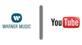logo da warner music versus logo do youtube