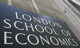 Placa da London School of Economics