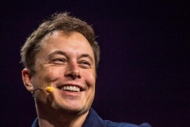 Foto de Elon Musk