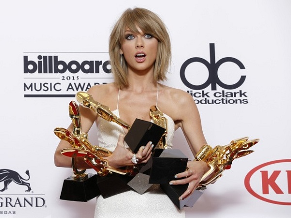Taylor Swift é a grande vencedora do Billboard Music Awards 2015