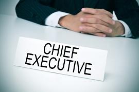 Foto com o título Chief Executive