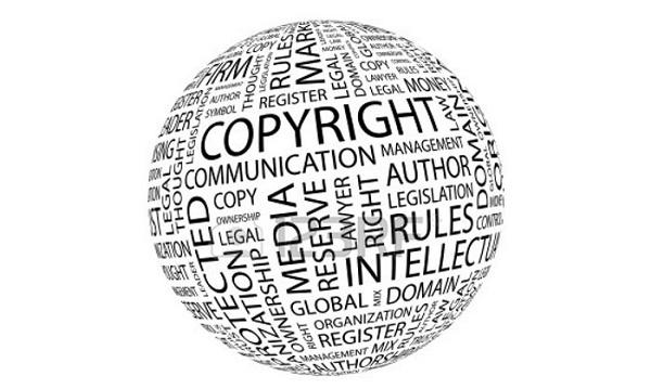 Ilustração para Direitos Autorais