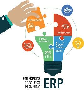 Ilustração de um ERP