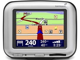 Ilustração do GPS tomtom