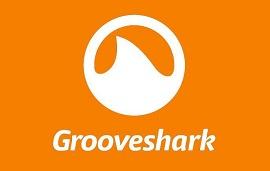 Logo do serviço de música Grooveshark