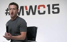 Foto do CEO do Facebook, Mark Zuckerberg