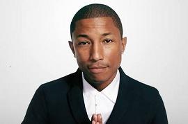 Foto do cantor Pharrell