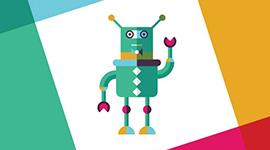 Ilustração de um robô