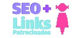 Ilustração SEO e Links Patrocinados