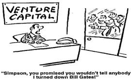 Cartoon-Você prometeu que não ia contar a ninguém que recursei Bill Gates
