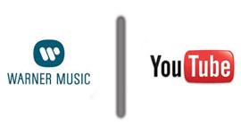 logo da warner music versus logo do youtube