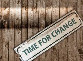 Aviso TIME FOR CHANGE